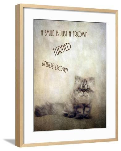 A Smile is Just a Frown-Jessica Jenney-Framed Art Print