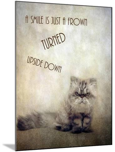 A Smile is Just a Frown-Jessica Jenney-Mounted Giclee Print