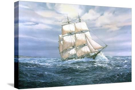 Hunter' Heading Out-Jack Wemp-Stretched Canvas Print