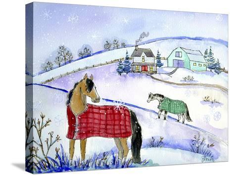 Horse Blanket-Jennifer Zsolt-Stretched Canvas Print