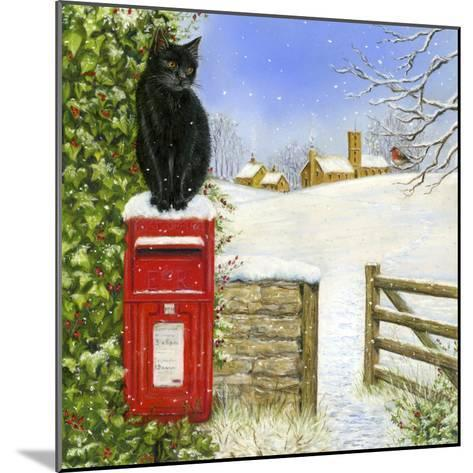 Christmas Post Box-Janet Pidoux-Mounted Giclee Print