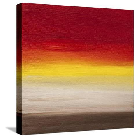 Sunsets - Canvas 1-Hilary Winfield-Stretched Canvas Print