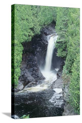 Lake Superior 11-Gordon Semmens-Stretched Canvas Print