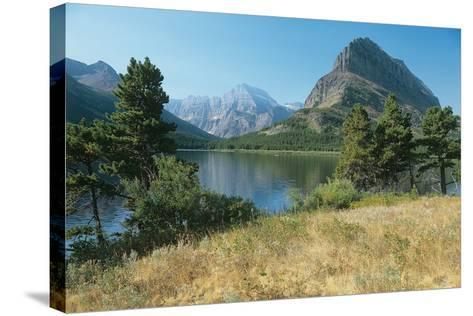 Glacier Q-Gordon Semmens-Stretched Canvas Print