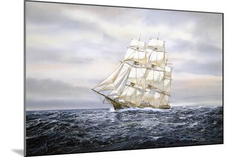 Clipper Ship-Jack Wemp-Mounted Giclee Print