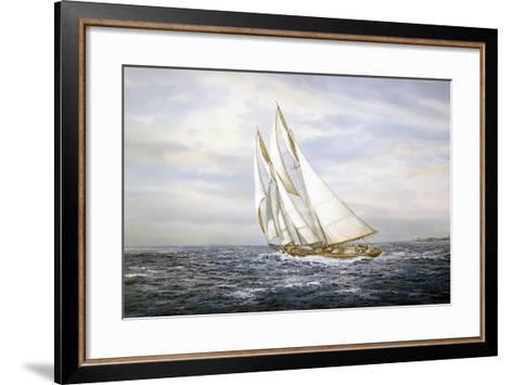 Going Fishing-Jack Wemp-Framed Art Print