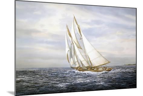 Going Fishing-Jack Wemp-Mounted Giclee Print