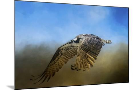 Osprey over Pickwick-Jai Johnson-Mounted Giclee Print