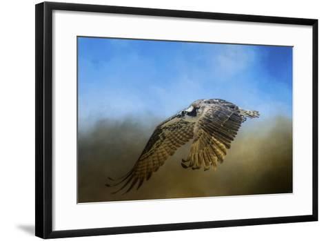 Osprey over Pickwick-Jai Johnson-Framed Art Print