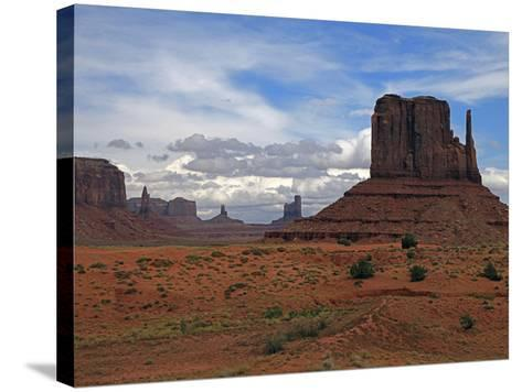 Monument Valley II-J.D. Mcfarlan-Stretched Canvas Print