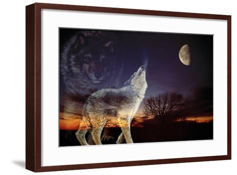 Spirits-Gordon Semmens-Framed Art Print