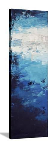 Blue Skies - Canvas 1-Hilary Winfield-Stretched Canvas Print