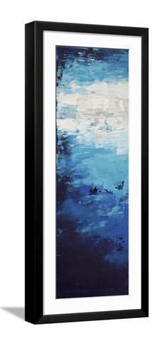 Blue Skies - Canvas 1-Hilary Winfield-Framed Art Print