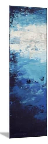 Blue Skies - Canvas 1-Hilary Winfield-Mounted Giclee Print