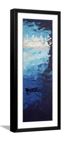 Blue Skies - Canvas 3-Hilary Winfield-Framed Art Print