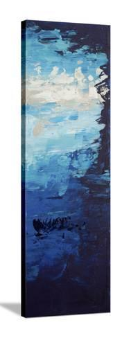 Blue Skies - Canvas 3-Hilary Winfield-Stretched Canvas Print