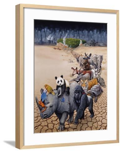 Save Our Environment-Harro Maass-Framed Art Print