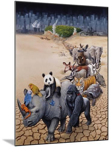 Save Our Environment-Harro Maass-Mounted Giclee Print