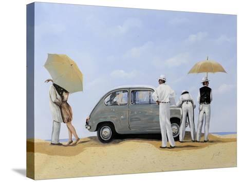 La 600-Guido Borelli-Stretched Canvas Print