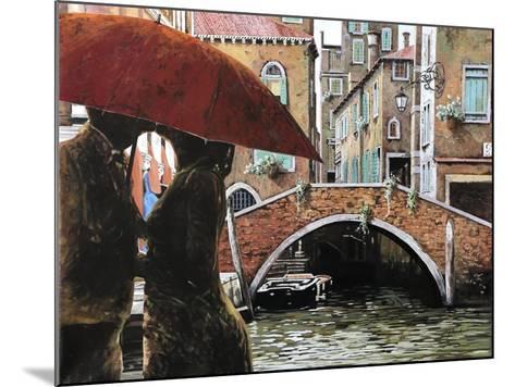 Baci Tra Le Calli-Guido Borelli-Mounted Giclee Print