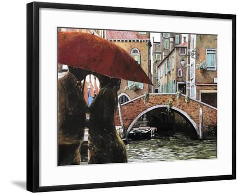 Baci Tra Le Calli-Guido Borelli-Framed Art Print