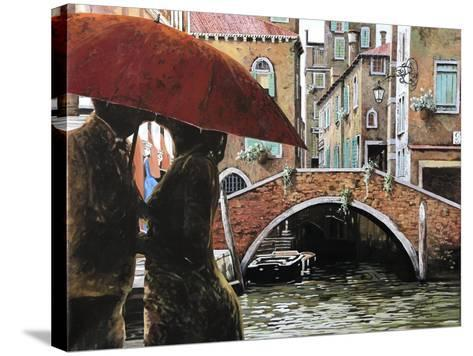 Baci Tra Le Calli-Guido Borelli-Stretched Canvas Print
