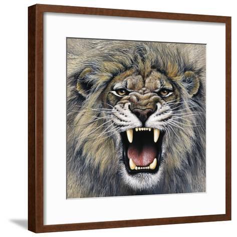 Lion-Harro Maass-Framed Art Print