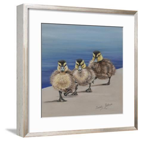 Left Right, Left Right-Janet Pidoux-Framed Art Print