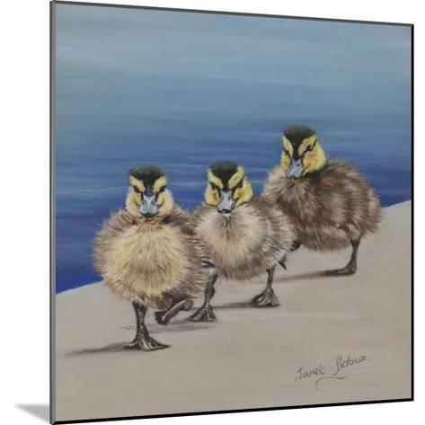 Left Right, Left Right-Janet Pidoux-Mounted Giclee Print
