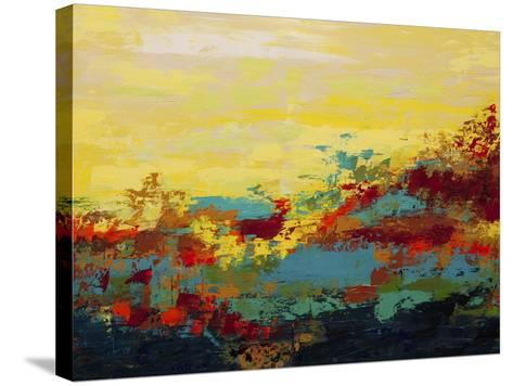 Desert Oasis-Hilary Winfield-Stretched Canvas Print