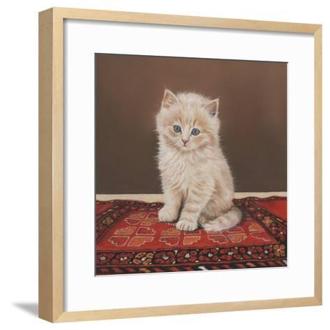 Fluffy-Janet Pidoux-Framed Art Print