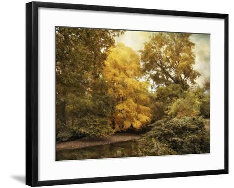 Autumn Creek-Jessica Jenney-Framed Art Print