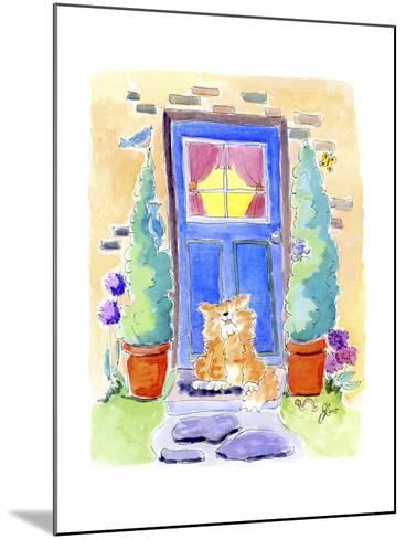 No place like home-Jennifer Zsolt-Mounted Giclee Print