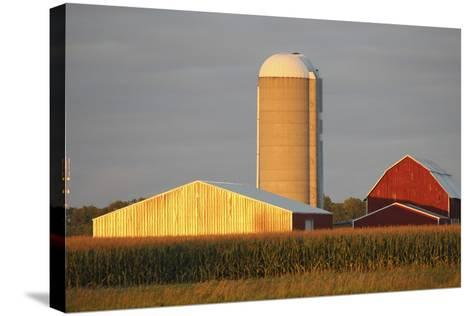 Barns 7-Jeff Rasche-Stretched Canvas Print