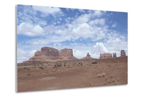 Monument Valley 11-Gordon Semmens-Metal Print
