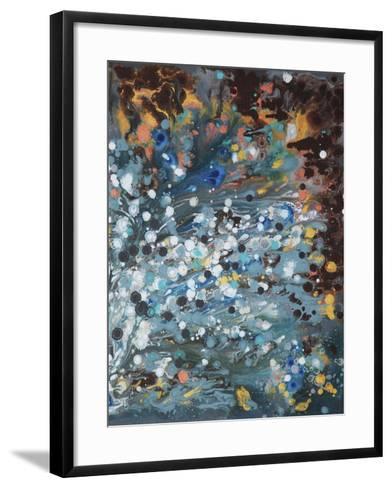 Modern Universe 2 - Canvas 2-Hilary Winfield-Framed Art Print