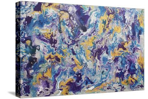 Indigo-Hilary Winfield-Stretched Canvas Print