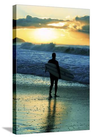 One Sunday Morning-Incredi-Stretched Canvas Print