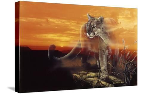 Ghost of the Badlands-Gordon Semmens-Stretched Canvas Print
