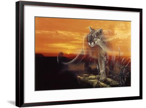 Ghost of the Badlands-Gordon Semmens-Framed Art Print