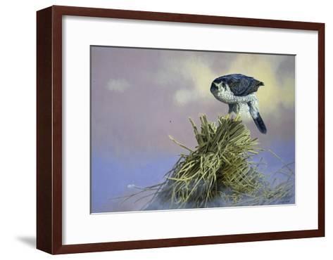 On Guard-Joh Naito-Framed Art Print