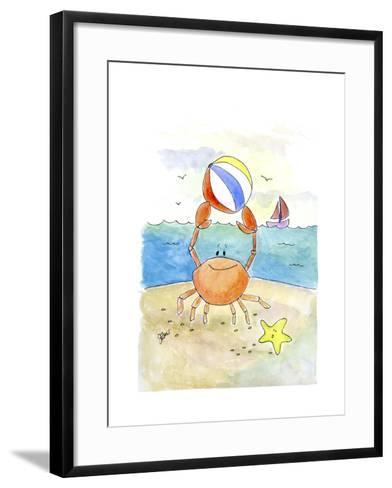 Cancer-Jennifer Zsolt-Framed Art Print