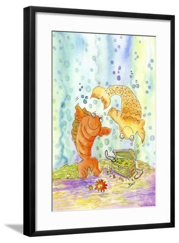 Pisces-Jennifer Zsolt-Framed Art Print