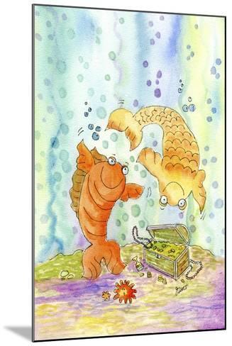 Pisces-Jennifer Zsolt-Mounted Giclee Print