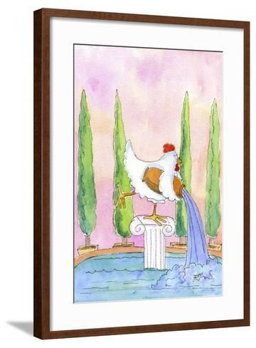 Aquarius-Jennifer Zsolt-Framed Art Print