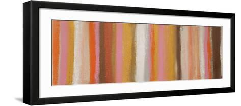 Pink and Metal-Hilary Winfield-Framed Art Print