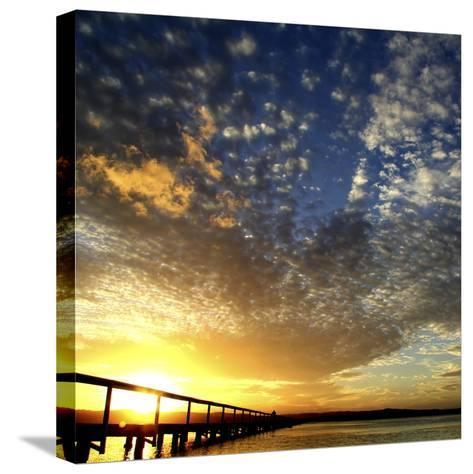 Sunset Glory-Incredi-Stretched Canvas Print