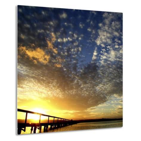 Sunset Glory-Incredi-Metal Print