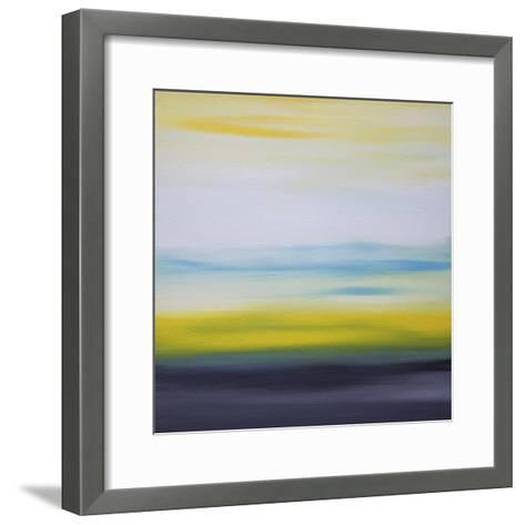 Sunrise and Sunset 2-Hilary Winfield-Framed Art Print