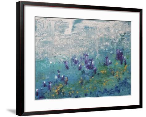 Silver Gardenscape-Hilary Winfield-Framed Art Print